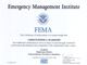 FEMA IS-101 Certificate thumb