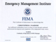 FEMA IS-548 Certificate Thumb